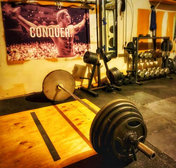 Steve Micklewright Home Gym