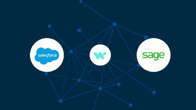 Can you collect payments in Intacct for orders from Salesforce?