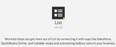 Using Workato Lists to Parse Objects and then Compose a CSV to upload to Box