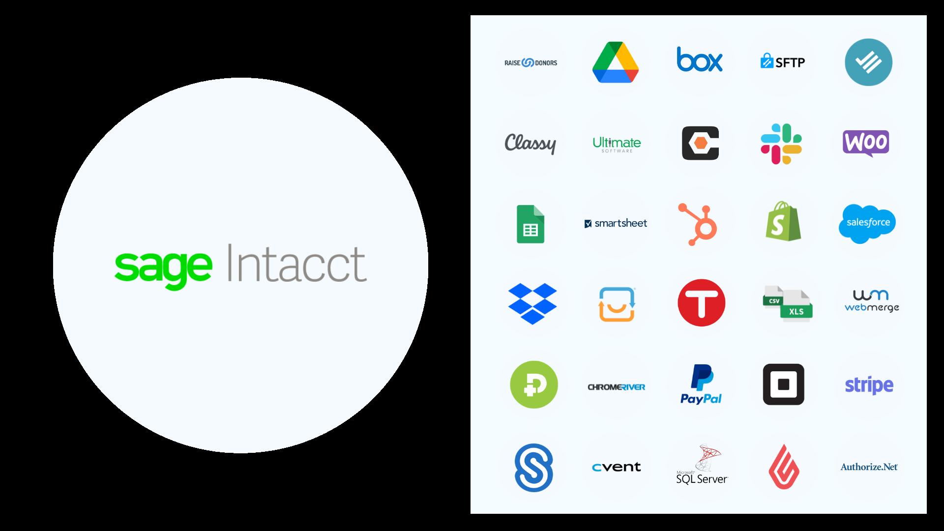 Sage Intacct App Integrations
